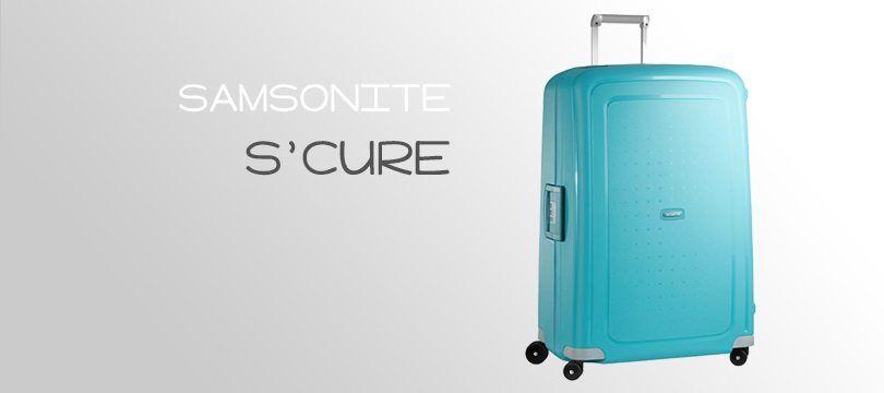 9713632222 La S'Cure est l'une des collections phares proposées par la marque  Samsonite, conçue en flowlite, un mélange de polypropylène révolutionnaire.